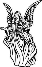 angel b&w